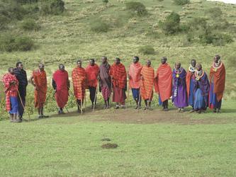 Die bunte Kultur der Masai