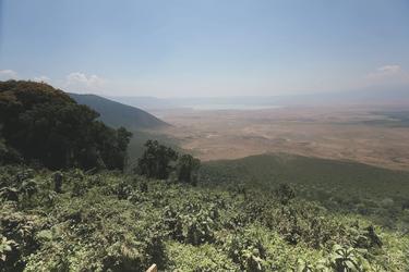 Blick auf den Ngorongoro Krater, ©Lemala
