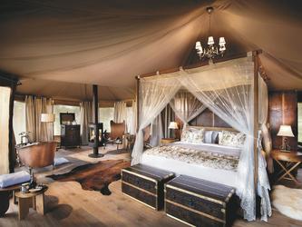 Luxuriöses Safarizelt