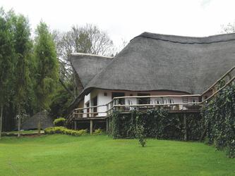 Typisches Farmhaus