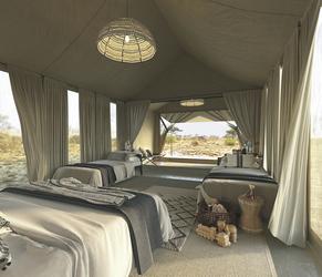 Safarizelt für Familien, ©Newmark Hotels