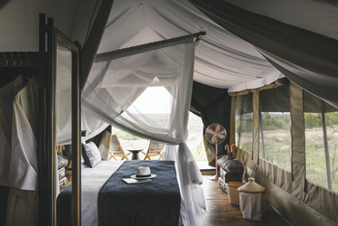 Safarizelt im Sanctuary Kichakani Serengeti Camp, ©Sanctuary Retreats