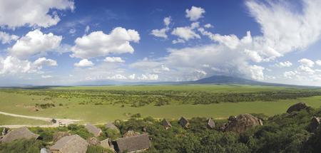 Das Olduvai Camp in herrlicher Lage