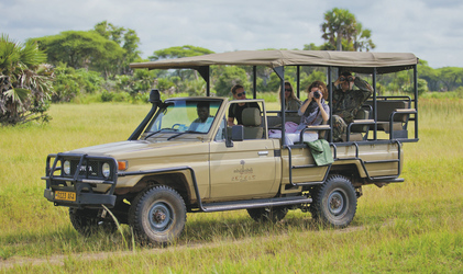 Auf Safari im Katavi NP, ©Hysteria Productions Ltd