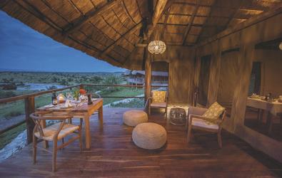 Restaurant im Mara River Post, ©AfriPassion