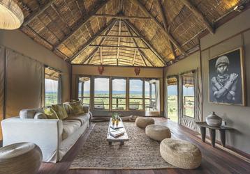 Lounge im Mara River Post, ©AfriPassion