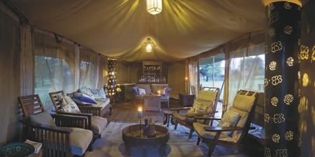 Lounge im Ronjo Camp, ©Ronjo Camp