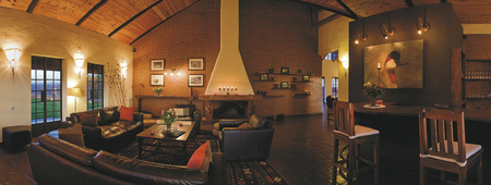 Lounge in der Bashay Rift Lodge, ©Bashay Rift Lodge