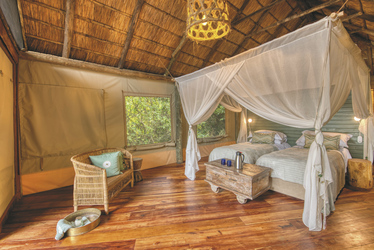 Mbali Mbali Mahale - Gästezimmer, ©Mbali Mbali