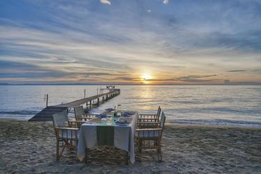 Abendessen am Strand, ©Mbali Mbali