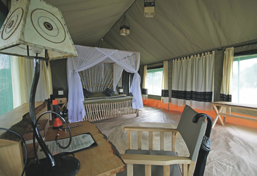 Safarizelt im Tarangire View Camp, ©Wilkinson Tours