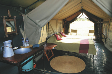 Safarizelt im Serengeti View Camp, ©Wilkinson Tours