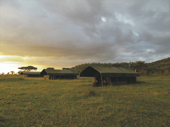 Im Serengeti View Camp, ©Wilkinson Tours
