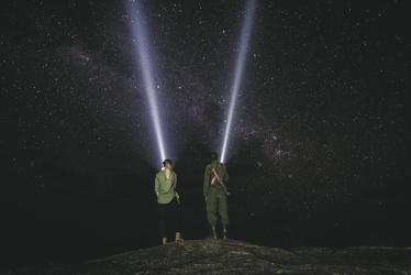 Sternbeobachtung im Camp, ©Sanctuary Retreats