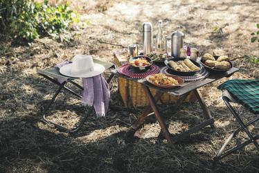 Picknick im Busch