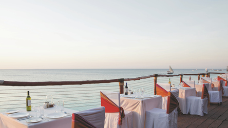 Das Restaurant am Meer