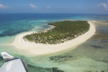 Fanjove Private Island aus der Luft