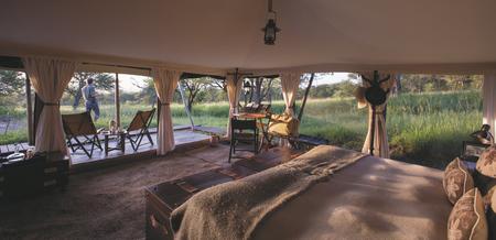 Safarizelt mit Panoramasicht, ©Niels van Gijn / Silverless