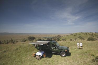 Picknick auf Safari, ©Niels van Gijn / Silverless