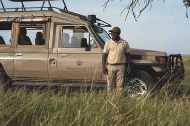 Der Geländewagen für die Safari