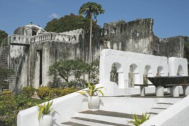 Die alten Palastruinen