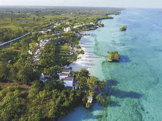 Weitläufiges Resort am Ozean