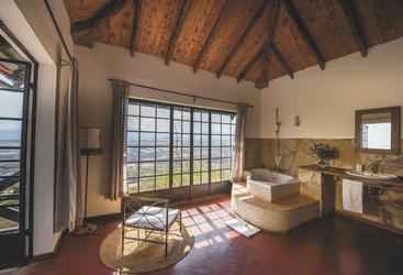 Gästezimmer in der Bashay Rift Lodge, ©Bashay Rift Lodge