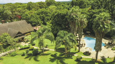 Die Arumeru River Lodge, ©Arumeru River Lodge