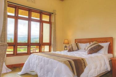 Die Gästezimmer der Marera Valley Lodge