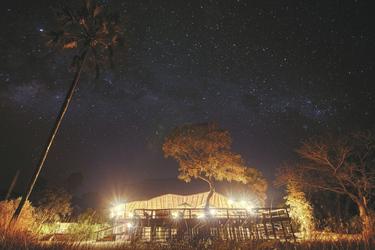 Der ungetrübte Sternenhimmel