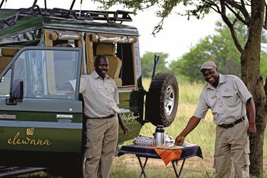 Picknick während der Safari, ©Elewana SkySafari