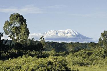 Schneebedeckter Kilimanjaro