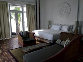 Schlafzimmer der Presidential Suite