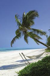 Strand am Breezes Beach Club auf Zanzibar