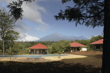 African View Lodge - Blick auf den Mount Meru, ©Horst Bachmann