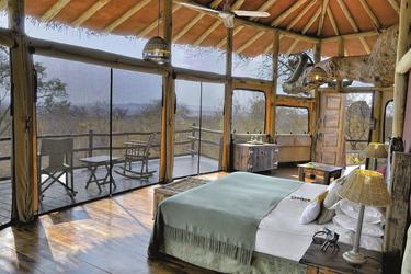 Das Baumhaus von innen, ©Elewana SkySafari