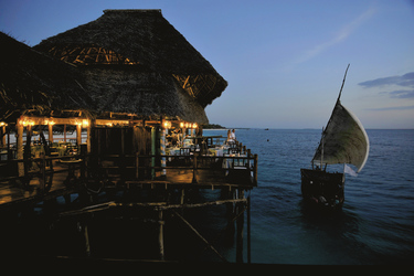 Stimmungsvolle Strandbar, ©Gemma dell Est