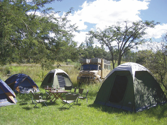Camping mit Shamiso Tours