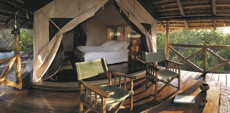 Safarizelt im Maweninga Camp