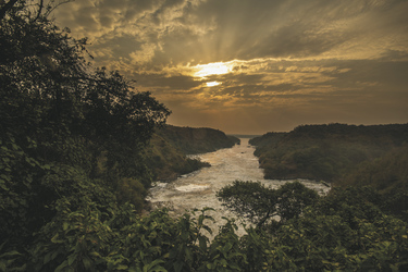 Landschaft im Murchison Falls Nationalpark, ©Great Lakes Safaris