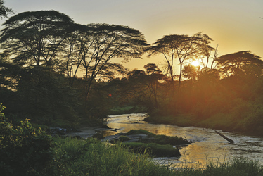 Landschaft im Queen Elizabeth Nationalpark