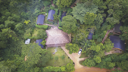 Die Buhoma Lodge im Bwindi Impenetrable NP
