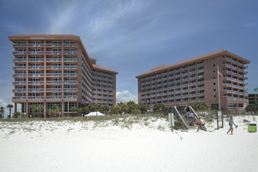Strandhotel in Gulf Shores