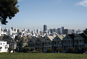 Painted Ladies & Skyline