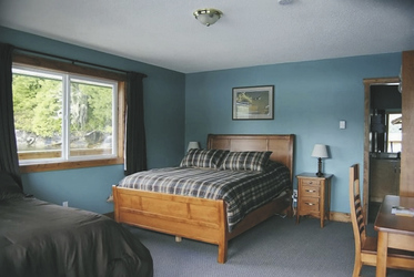 Zimmer in der Knight Inlet Lodge - ©Knight Inlet Lodge