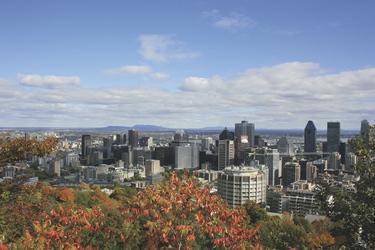 Montreal von oben, ©Tourisme Montréal