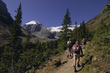 Wandern in den Rockies (CSM)