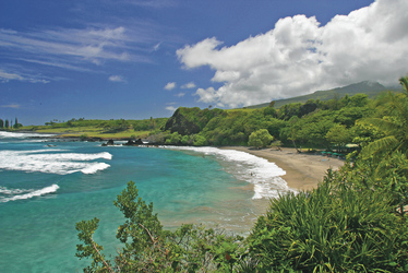 Strand auf Maui, ©Ron Dahlquist