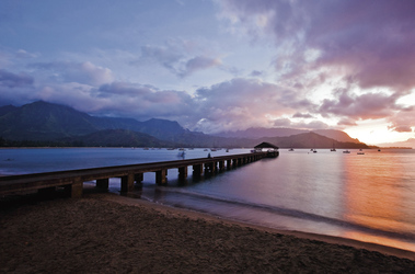 Hanalei Pier - ©Hawaii Tourism Authority, ©Hawaii Tourism Authority