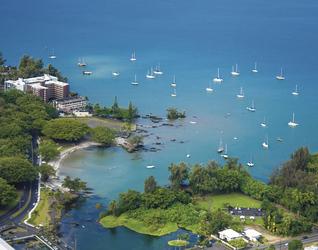 Bucht auf Big Island